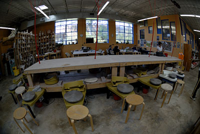 mudfire pottery studio, atlanta, georgia