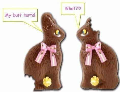 easter bunnies with some problems