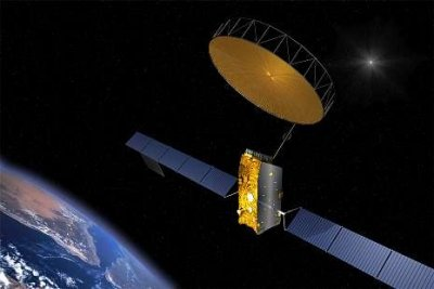 inmarsat I4 satellite