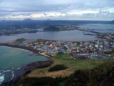 view of east jeju