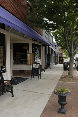 old norcross downtown street