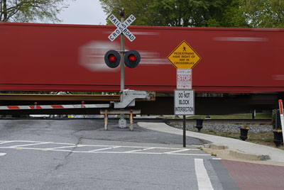 freight train in old norcross