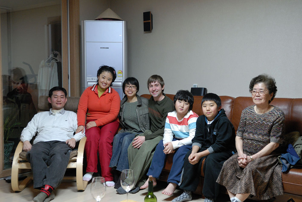 Nancy's cousin's family