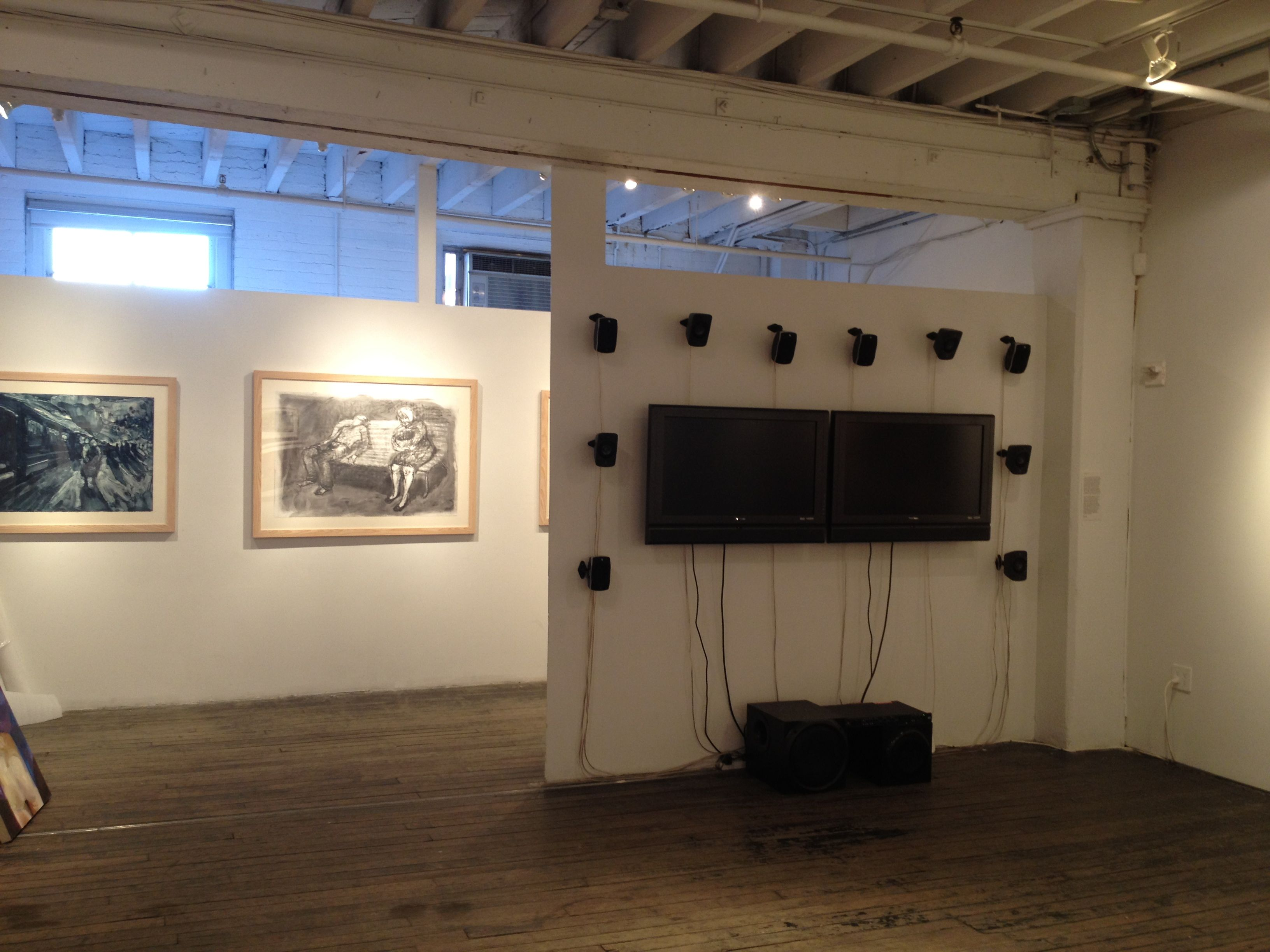 generative audio & video installation